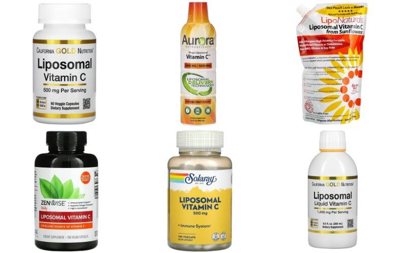 Липосомальный витамин С на iHerb