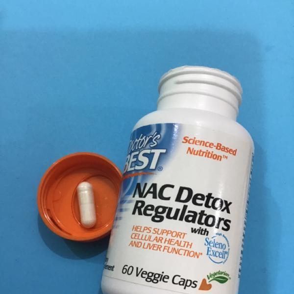 NAC в таблетках